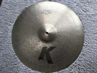"Zildjian K Custom Dark ride cymbal 20"""