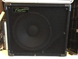 Bergantino EX112 bass cab & cover - mint condition