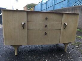 Beautiful Vintage Wardrobe set | 1960's | Solid build | Sideboard | Dresser | Wardrobe | £100 ono