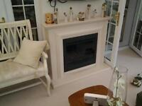 Electric fire and surround like new