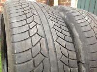 Two Tyres 20 inch They are like new 275/35/20, This Tyres Will Fit any 20 inch Alloy Wheels