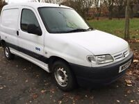 2000 CITROEN BERLINGO LX. BRILLIANT DRIVE. 1 OWNER FROM NEW .TIMING CHAIN CHANGED.RECENTLY SERVICED