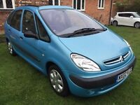 Fantastic Condition 2002 Picasso 1.8 SX Only 62000 Miles Feb MOT Great Value People Carrier