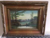 Original paintings x4 from Edwardian era