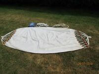 HAMMOCK AND SUSPENSION KIT - EXCELLENT CONDITION