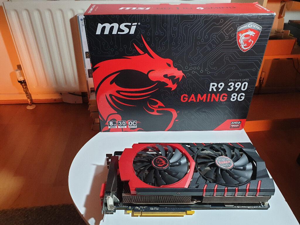 MSI R9 390 GAMING 8G - AMD Radeon 8GB GRAPHICS CARD / GPU FOR DESKTOP PC |  in Donegall Road, Belfast | Gumtree