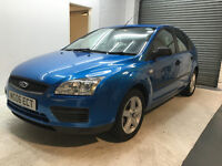 2006 FORD FOCUS PETROL LX AUTOMATIC 5 DOOR LOW MILES MOT TILL MAY SERVICE HISTORY