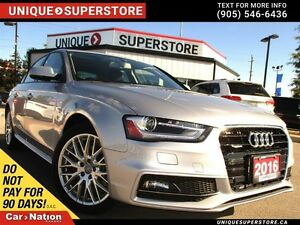 2016 Audi A4 2.0T Komfort Plus| LEATHER| AWD| SUNROOF|