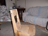 Nice Wooden Child's Chair - Handmade