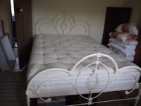 French Style 5ft Metal Bedstead. Laura Ashley