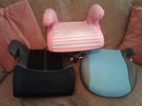 3 childs car seats