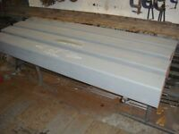 Post 1 OFF Steel Box Section Ideal for Gate Post or Lintel (just 1 post left).