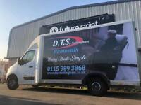 Removals, Removals in Mansfield, Home movers, Business removals, House moves, Man with a van