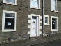 Hawick, 2 Bedroom Flat main door entry