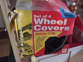 Car wheel hub covers