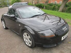 2000 W AUDI TT 1.8 ROADSTER QUATTRO 225 BHP CONVERTIBLE HISTORY CAMBELTED LEATHER 6 SPPED PX SWAPS