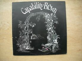 Capability Brown 'From Scratch' Vinyl LP CAS 1056 and Original Inner Sleeve
