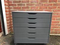 Ikea grey file drawers