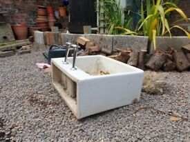 Old belfast sink