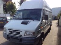 LEFT HAND DRIVE IVECO DAILY VAN,4 TONNES, EXTRA HIGH,EXTRA LONG WITH HYDRAULIC TAIL LIFT. CALL MARC