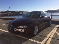 IMMACULATE ALFA ROMEO 156 VELOCE FACE LIFT, FSH, 1 OWNER FROM NEW, NEW CAMBELT, 1.9JTD