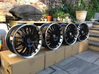 """VW Transporter T5 T6 Amarok alloy wheel 18"""" BBS style load rated for van"""