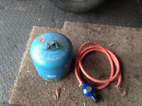 Camping gaz gas bottle with new regulator and pipe trailer Tent caravan
