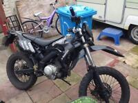 125cc road legal bike for sale