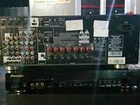 Pioneer Amplifier and Sub