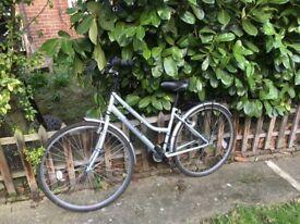 """Raleigh Imperial Ladies Bike - Silver 17"""""""