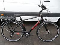 Raleigh Array Electric E-Motion Mens Hybrid Bike Brand New Ex Display Guaranteed Located Bridgendd
