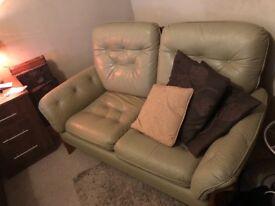 Green Wicker Sofa good quality