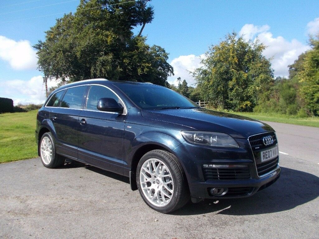 2007 07 audi q7 3 0 tdi s line tiptronic quattro 7 seater 4x4 in peterculter aberdeen gumtree. Black Bedroom Furniture Sets. Home Design Ideas