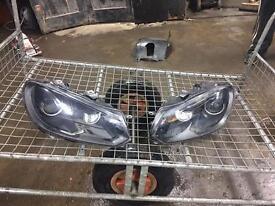 Golf Mk6 r20 mk6 golf r xenons pair