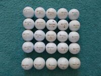 25 x TAYLORMADE Golf Balls - mostly Grade A/B condition!