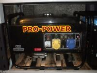2.2KW PRO-POWER 4 STROKE PETROL GENERATOR WITH AUTOMATIC VOLTAGE REGULATOR AND LOW OIL AUTO SHUTDOWN