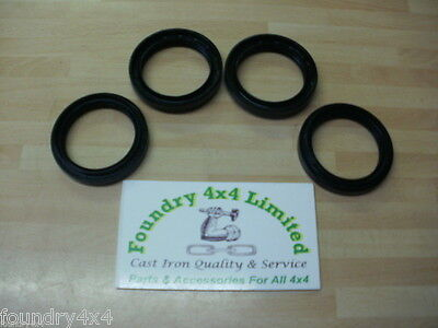 Land Rover Discovery 1 Front and  Rear Hub Oil Seal Set of 4 (FTC4785)