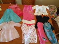 3- 9 months girls clothes