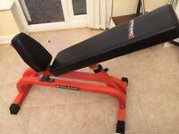 Gymano exercise bench