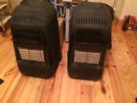 UHEAT portable gas heater X 2