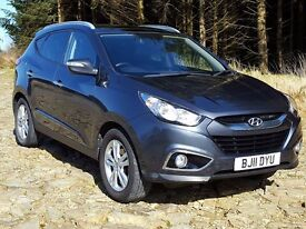 2011 Hyundai iX35 Premium 1.7CRDi, Colour SatNAv, Leather, Double Sunroof, Climate, Keyless Ignition