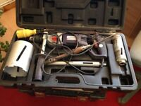 Sparky Impact drill and Site Angle Grinder