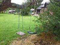 FOR SALE 2x childrens garden tree swings