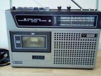 Vintage Hitachi Radio/Cassette