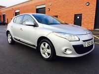 LATE 2011RENAULT MEGANE DYNAMIQUE TOM-TOM DCI ECO ONE OWNER FULL SERVICE HISTORY
