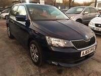 Skoda Fabia 1.0 MPI S 5dr (start/stop)£6,995 p/x welcome FREE 1 YEAR WARRANTY
