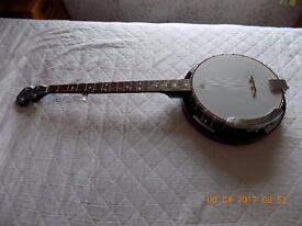 Rocket 5 String Banjo - Metal Pot - Absolutely Prestine condition.