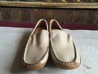 Brand new max men's loafers causal shoes size 42 beige £5