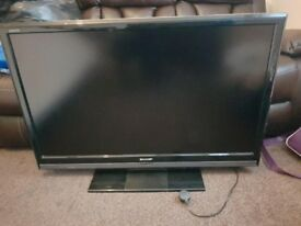 """SHARP LC46D65E 46"""" Full HD 1080p LCD TV with Integrated Digital Tuner"""