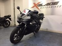 Yamaha YZF R125 Sports Motorcycle, ABS, Tail Tidy, Crash Bungs, Good Cond, ** Finance Available **